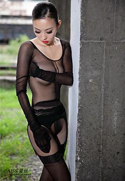 [爱丝] 气质美女生活照瑶瑶黑丝袜美女人体艺术图片 第086期